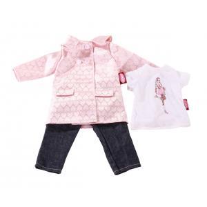 Gotz - 3402301 - Jeans combi, in town, 45 a 50 cm, 3-pcs. (218784)