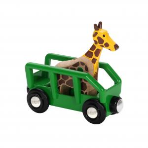 Brio - 33724 - Wagon girafe - Thème Exploration - Age 3 ans + (219196)