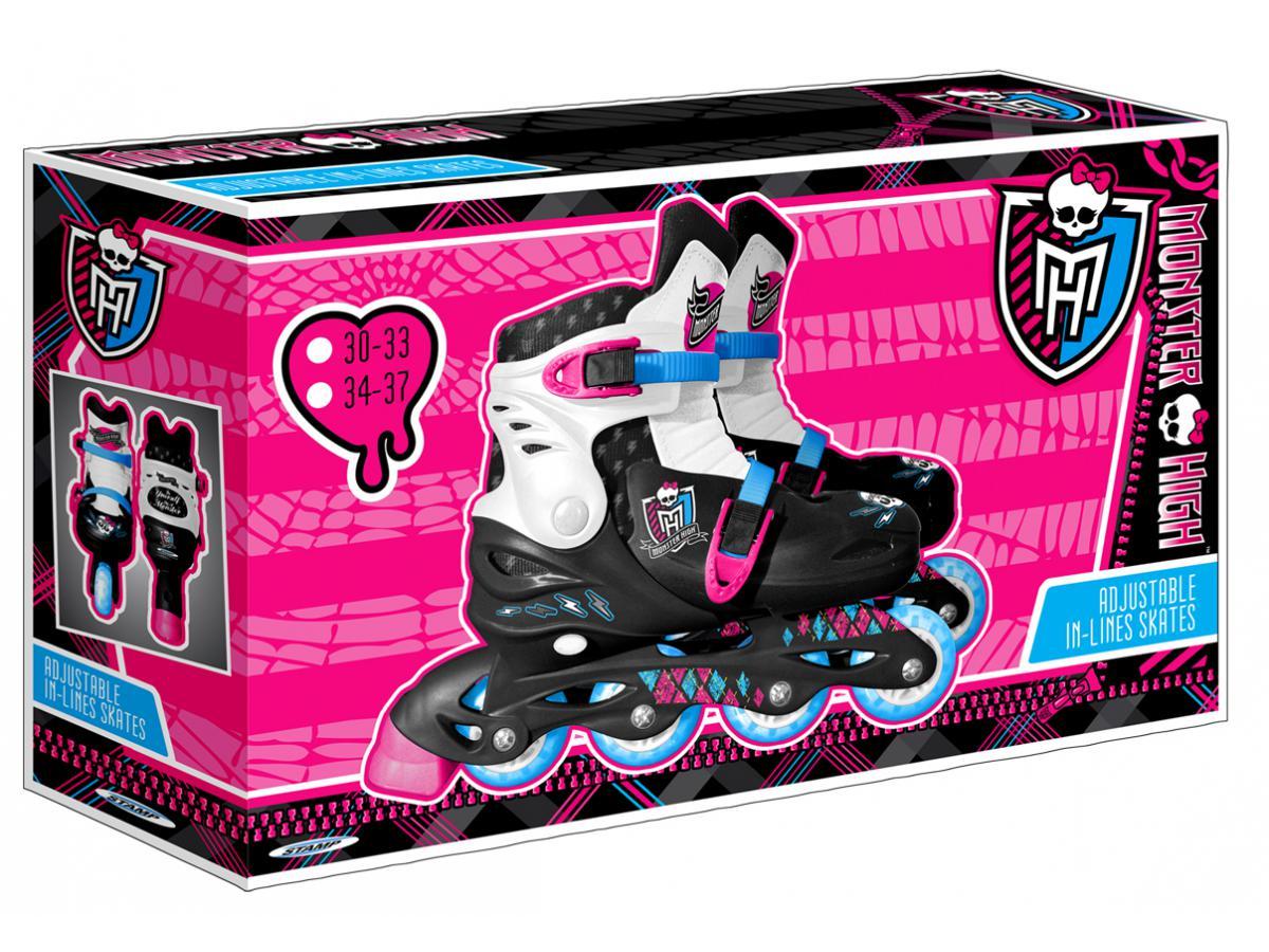 Stamp patins en ligne ajustable monster high 34 37 - Jeux monster high roller ...