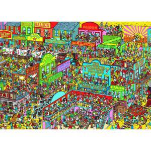 Nathan puzzles - 87572 - Puzzle 1000 pièces - Charlie chez les cow-boys / Où est Charlie ? (219496)