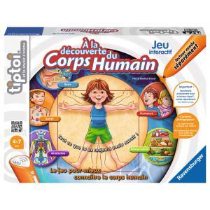 Ravensburger - 00703 - Jeux tiptoi® A la découverte du corps humain (219760)