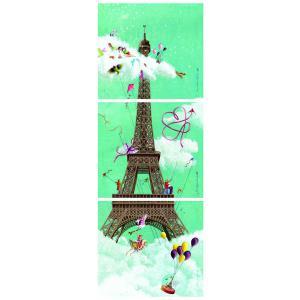 Nathan puzzles - 87612 - Puzzle 1000 pièces panorama - Tour Eiffel (219852)
