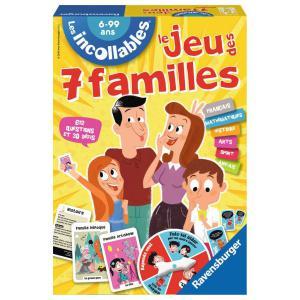 Ravensburger - 26624 - Jeux de société  enfants - Le jeu des 7 Familles des Incollables  - Jeux de réflexion (219898)