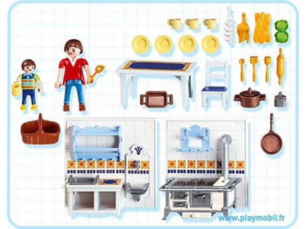 Best cuisine maison moderne playmobil photos for Cuisine playmobil