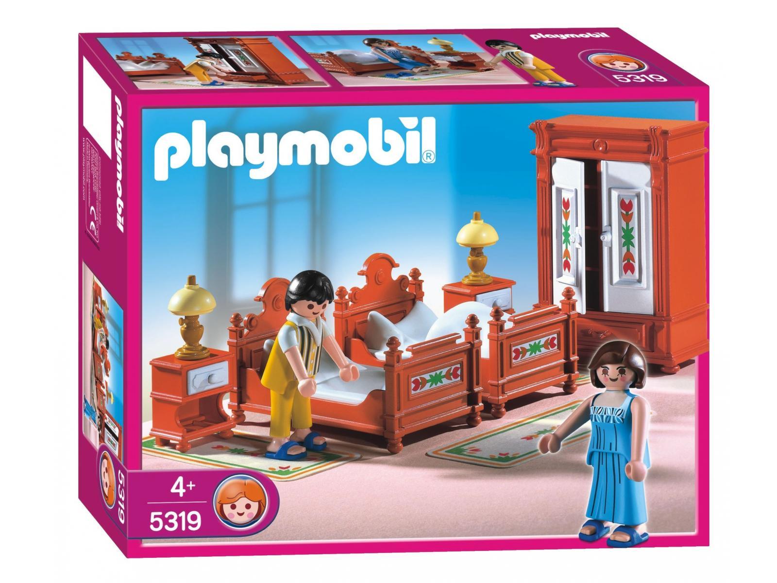 Playmobil parents et chambre traditionnelle 5319 for Playmobil chambre parents