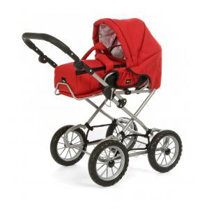 Brio - 24891318 - Poussette ''combi 3 en 1'' rouge - Age 3 ans + (221028)
