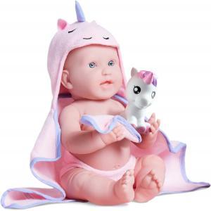 Berenguer - 18004 - Poupon Newborn nouveau né sexué fille avec serviette 43 cm (221122)