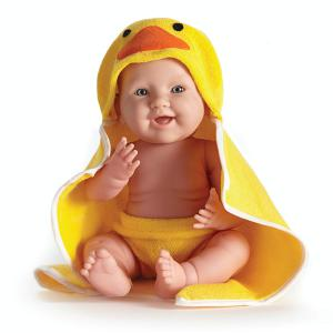 Berenguer / JC Toys - 18005 - Poupon Newborn nouveau né sexué garçon avec serviette 43 cm (221124)