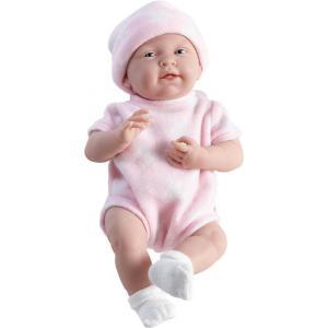 Berenguer - 18050 - Poupon Newborn nouveau né sexué fille tenue rose 38 cm (221126)