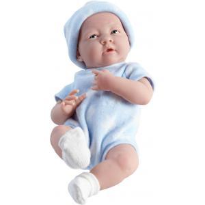 Berenguer / JC Toys - 18052 - Poupon Newborn nouveau né sexué garçon tenue bleue 38 cm (221130)