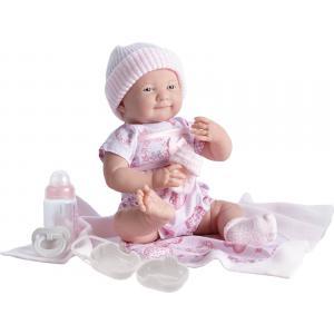 Berenguer - 18781 - Poupon Newborn nouveau né avec accessoires roses 39 cm (221136)