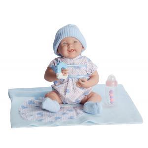 Berenguer - 18782 - Poupon Newborn nouveau né avec accessoires bleus 39 cm (221138)
