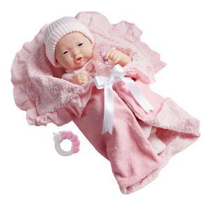 Berenguer / JC Toys - 18784 - Poupon Newborn nouveau né Asiatique avec accessoires 39 cm (221142)