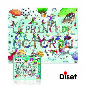 Diset - 41022 - Puzzle licences Prince de motordu 300p (221146)