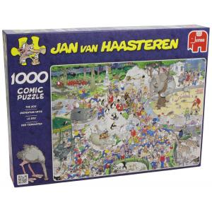 Jumbo - 1491 - Puzzle 1000 pièces JVH - At the Zoo (221208)