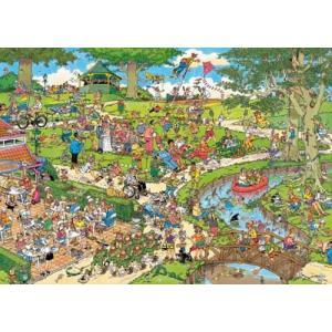 Diset - 1492 - Puzzle 1000 pièces - JVH-Le parc (221210)