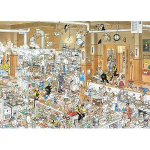 Diset - 13049 - Puzzle La cuisine Comic 1000 pièces (221230)