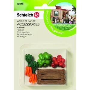 Schleich - 42115 - Kit de nourriture pour figurine cheval (221522)