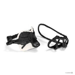 Schleich - 42123 - Selle de saut d'obstacles + harnais pour figurine cheval (221538)