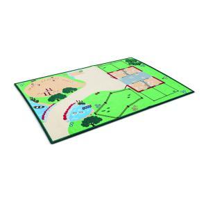 Schleich - 42138 - Tapis de jeu « La vie à la ferme » - 95 cm x 133 cm x 0,5 cm (221568)