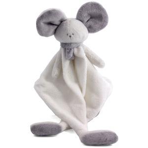 Dimpel - 822458 - Mona souris doudou - blanc et gris-clair (225170)