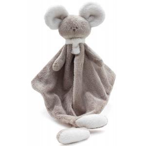 Dimpel - 822497 - Doudou souris MONA beige gris & blanc (225176)