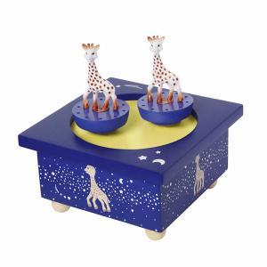 Trousselier - S95063 - Boite à Musique Bois Sophie la Girafe© Voie Lactée (225328)