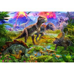 Educa - 15969 - Puzzle 500 rencontre entre dinosaures (225746)