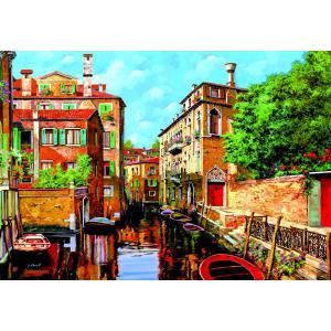 Educa - 16016 - Puzzle 2000 luce a venezia, Guido Borelli (225806)