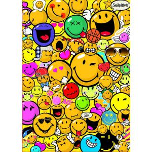 Educa - 15966 - Puzzle 500 smiley world (225848)
