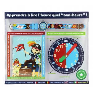 Babywatch - 230605545 - Coffret bon-heur pour apprendre à lire l'heure 7-9 ans Matelot (227024)