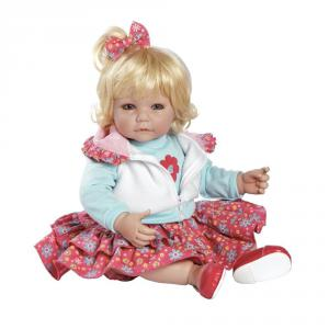 Adora - 20014006 - Poupée blonde jupe rose fleurie 50 cm (227688)