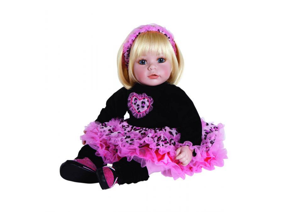 adora poup e blonde 50 cm tenue rock. Black Bedroom Furniture Sets. Home Design Ideas
