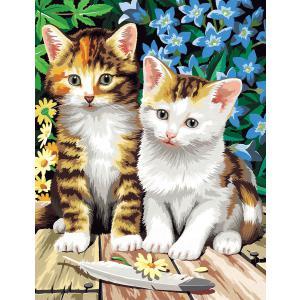 Mammut - 110006 - Peinture aux numéros - collection classique - chats (236576)