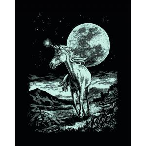 Mammut - 136018 - Carte à gratter argentée - 21 x 31 cm - licorne (236760)