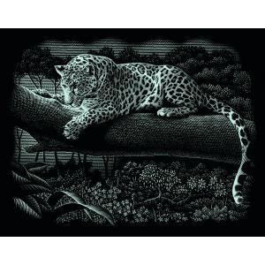 Mammut - 137002 - Carte à gratter argentée - 26,5 x 23 cm - léopard (236780)