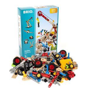 Brio - 34588 - Coffret activité builder 211 pièces - Age 3 ans + (239816)