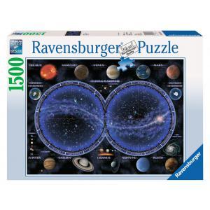 Ravensburger - 16373 - Puzzle 1500 pièces - Planisphère céleste (2462)