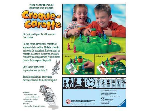 ravensburger croque carotte jeux de soci t enfants. Black Bedroom Furniture Sets. Home Design Ideas