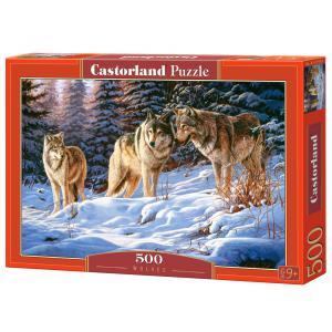 Castorland - 51793 - Puzzle 500 pièces - Loups (259494)