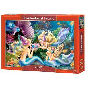 Castorland - 51953 - Puzzle 500 pièces - 3 sirènes (259508)