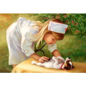 Castorland - 52004 - Puzzle 500 pièces - petite infirmière (259514)