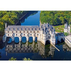 Castorland - 52103 - Puzzle 500 pièces - Château de Chenonceau, France (259534)