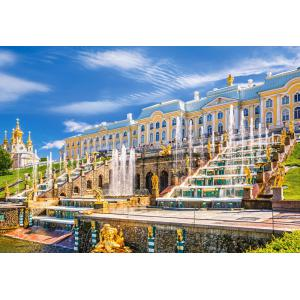 Castorland - 103102 - Puzzle 1000 pièces - Peterhof Palace, St. Petersburg, Russia (259562)