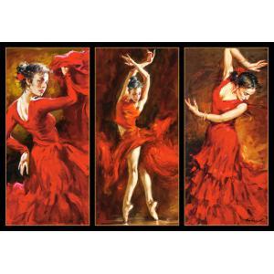 Castorland - 103119 - Puzzle 1000 pièces - Crimson Dancers (259564)