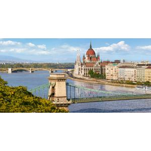Castorland - 400126 - Puzzle 4000 pièces - The View over the Danube, Budapest (259590)