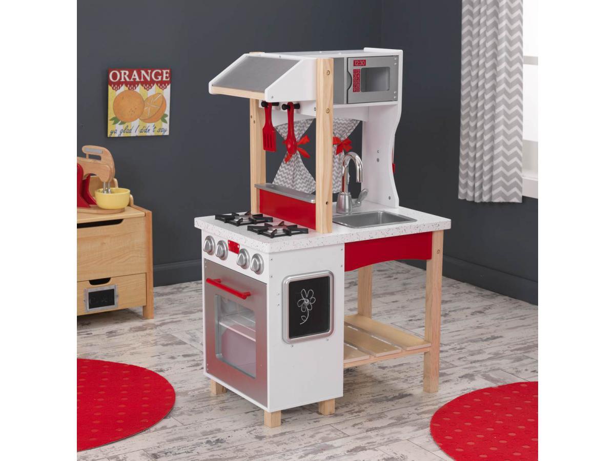 kidkraft cuisine modern island. Black Bedroom Furniture Sets. Home Design Ideas