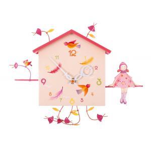L'oiseau bateau - HOR0001 - Horloge décorative Alabonneheure La fille et l'oiseau (263386)