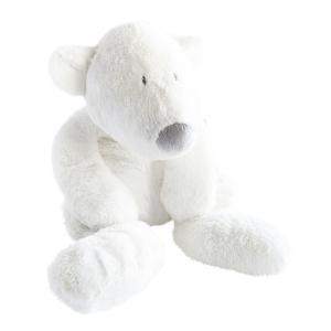 Dimpel - 883142 - Peluche ours polaire bébé  P'timo 40 cm blanc (264718)