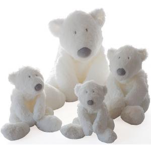 Dimpel - 883142 - P'timo doudou bébé ours polaire 40 cm - blanc (264718)